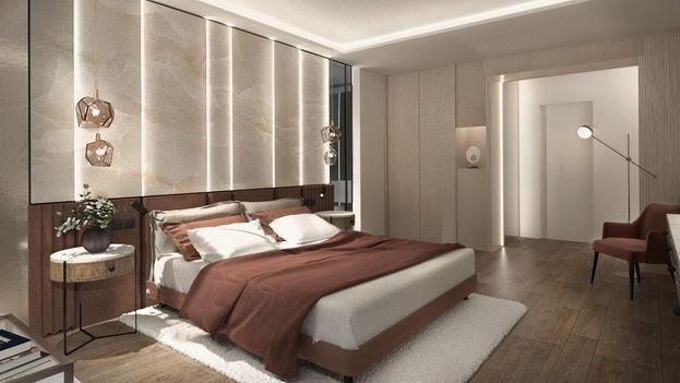 HOTEL ROOMS, MARRIOTT WARSAW