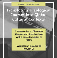 Translating Theological Courses into Global Cultural Contexts
