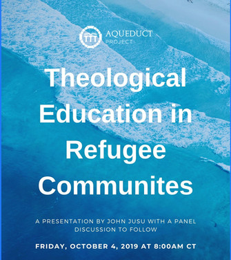 Theological Education in Refugee Communities