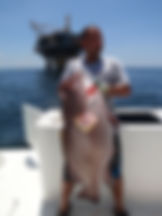 42lb Yellowedge Grouper caught in Trnidad using an electric reel