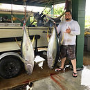 Tuna fishing in Hawaii with electric reel