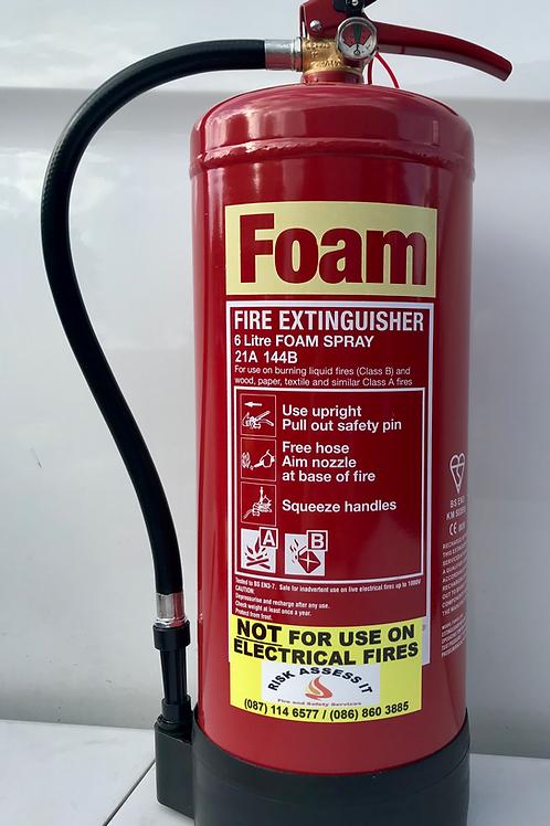 6Lt Foam Fire Extinguisher