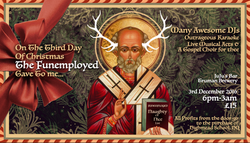 FunEmployed Christmas Party Invite