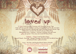 LOVED UP. Cacao and Yoga Ceremony