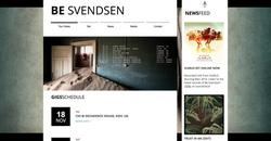 BeSvendsen Website design