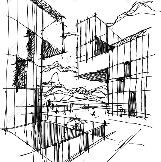 85388992-hand-drawn-architectural-sketch