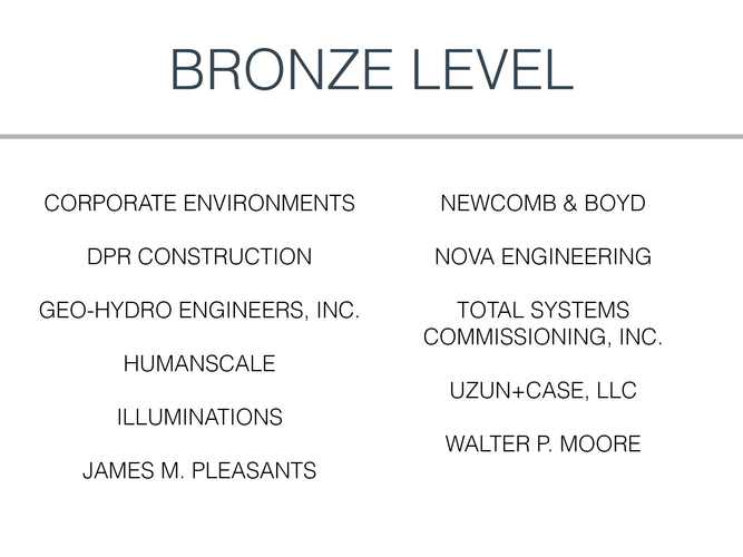 2020 Bronze Level