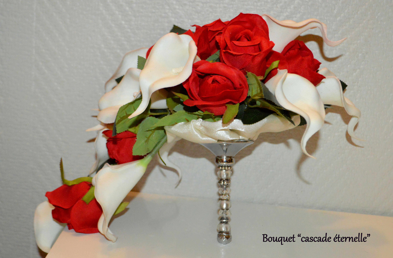 Bouquet cascade éternelle