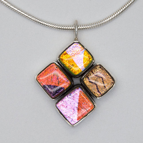 four square pendant