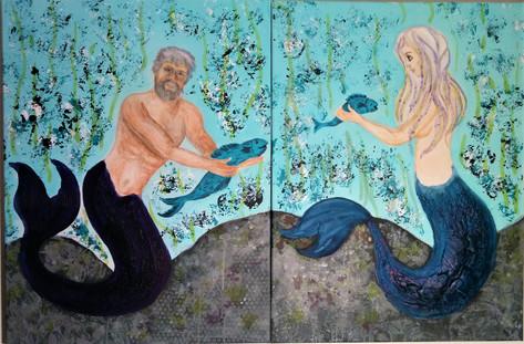 Aquanien König und Königin