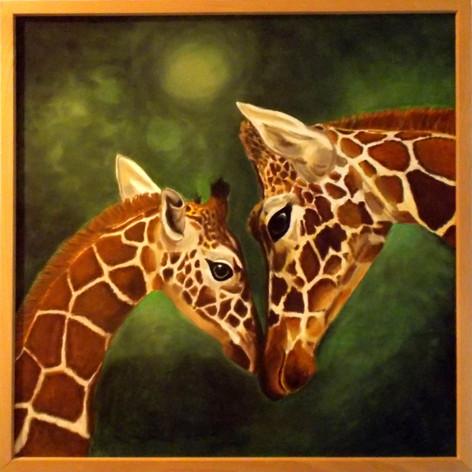 Giraffenmutter