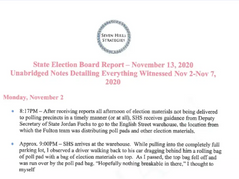 Documents reveal discrepancies, errors and lies in Fulton County's election count