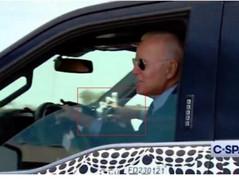 📺Fake Biden Caught on Video Fake Driving At MI Ford Plant.