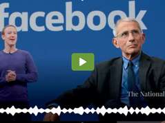 """Fauci admits being offered """"resources and money"""" by Mark Zuckerberg"""
