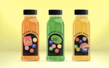 Sunny Days Juice Brand Identity