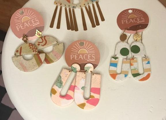 Peaces by Lauren Earrings