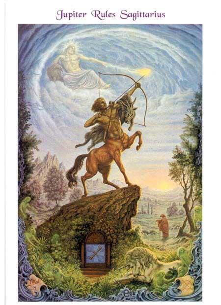 Johfra-Bosschart-Sagittarius-painting