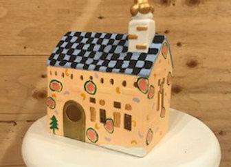 Light-up Ceramic House