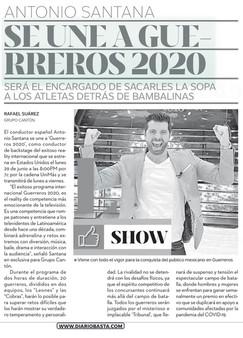 Diario Basta - Guerreros 2020