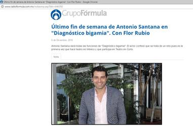 Entrevista Radio Fórmula México
