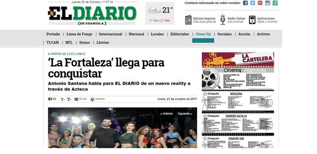 La Fortaleza (Diario de Coahuila)