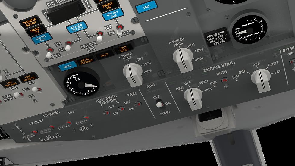 B737 NG Cockpit