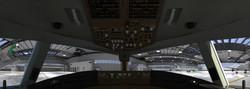 b777 in hangar wide