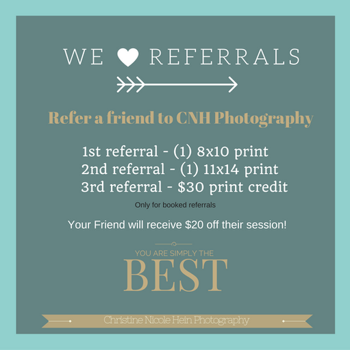 We love Referrals | Referral Program