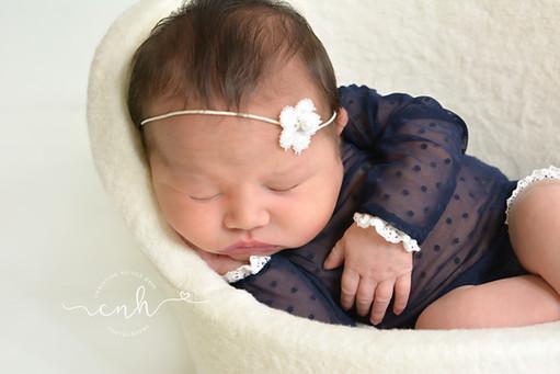 Belleville, IL Newborn Photographer | Zooey