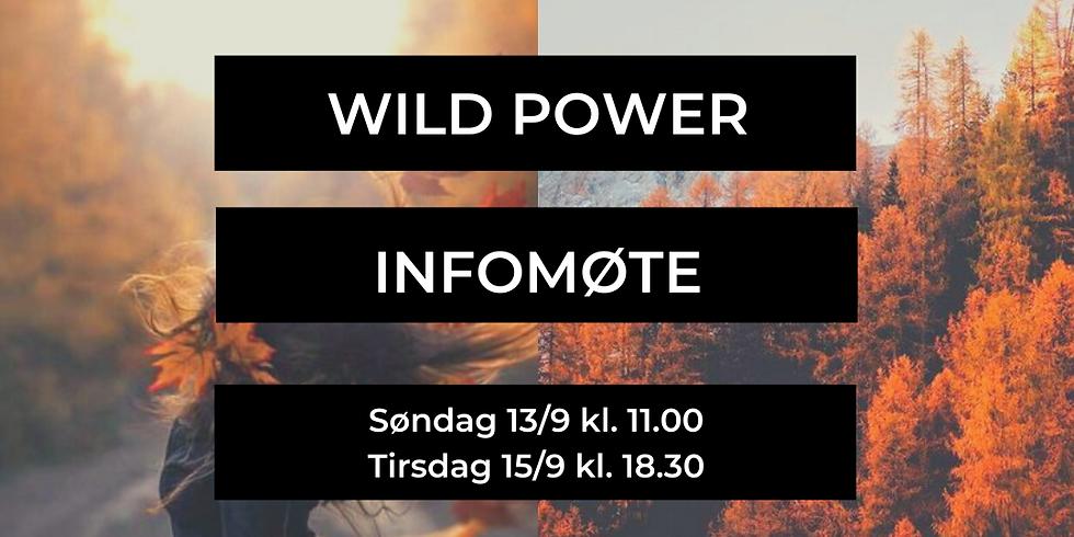 WILD POWER, infomøte