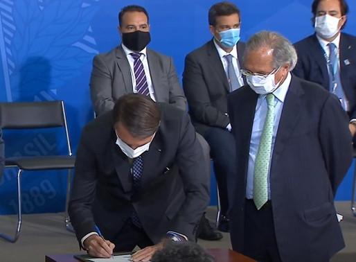 Sancionada Medida Provisória que garante mais R$ 12 bilhões para o Pronampe