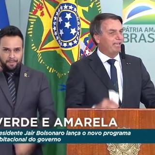 Senador Jorginho Mello é homenageado pelo presidente Jair Bolsonaro pelo Dia do Soldado