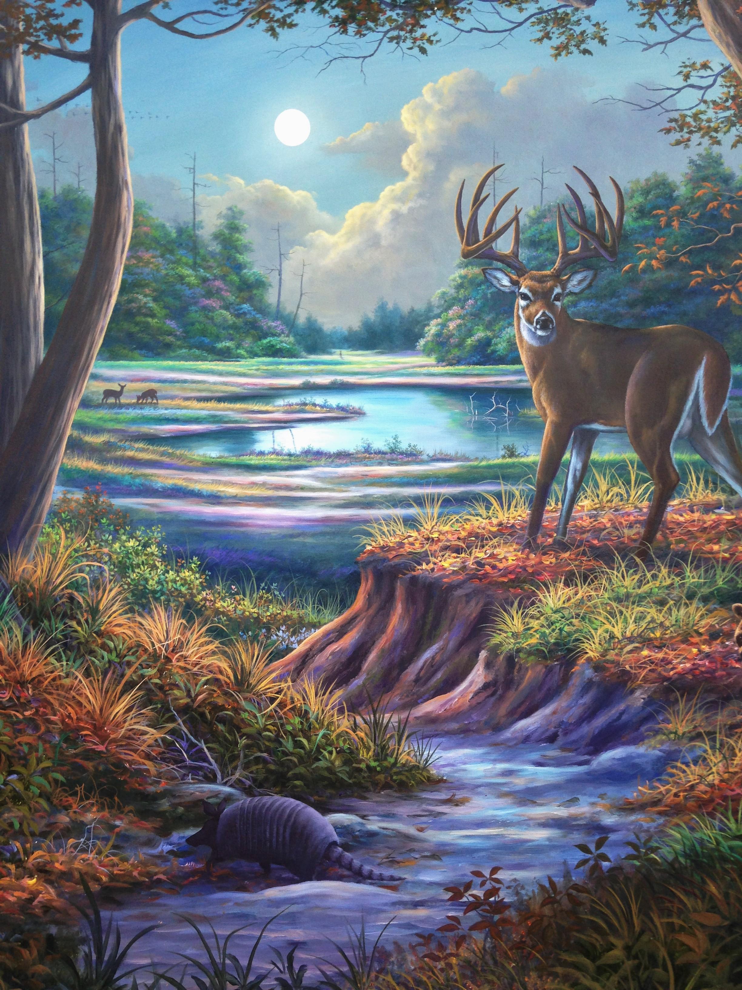 Moon Deer