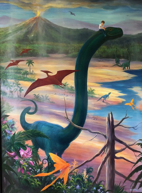 Riding my Pet Diplodocus