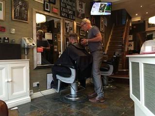 Neil's Barber Skills!