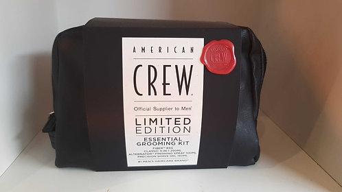 American crew essential grooming gift pack