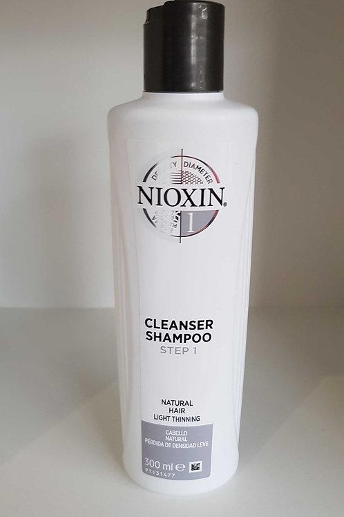 Nioxin 1 cleanser Shampoo Step 1