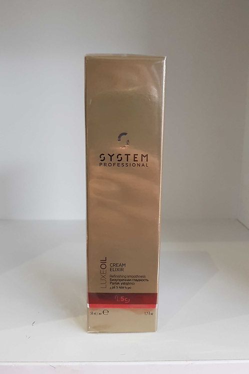 System Proffessional luxe oil cream