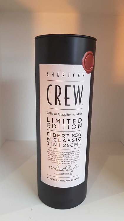 American crew gift pack - contains forming cream & classic 3in 1
