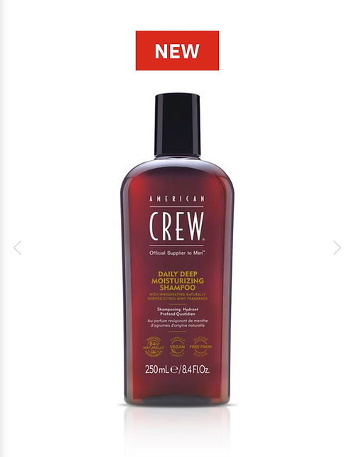 American Crew Daily Deep Moisturising Shampoo 250ml