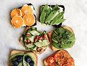 Comida colorida