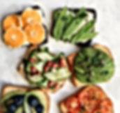 Kleurrijk eten