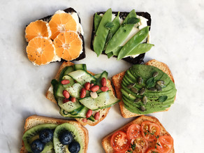 FRESH FRUIT AND VEGETABLE SANDWICHES
