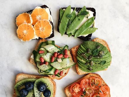 Nourriture colorée