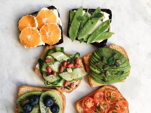 Kolorowe jedzenie