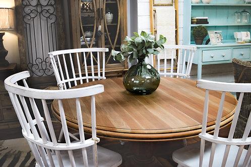 Bramble Driftwood Drake Pedestal Round Table #6426