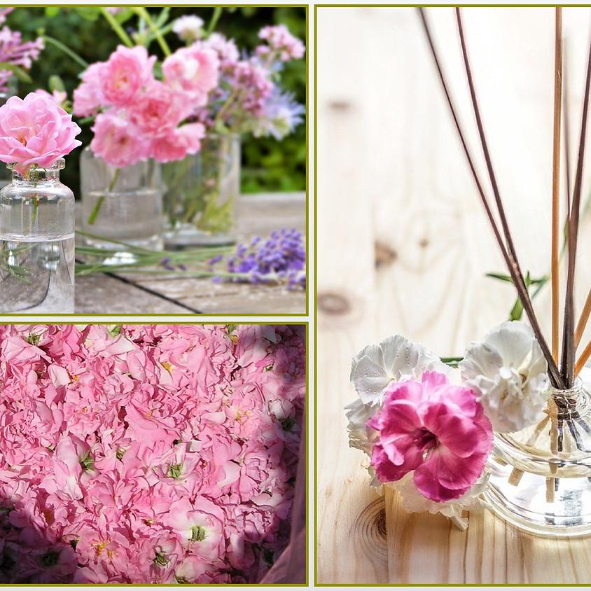 薔薇香るリードディフューザー