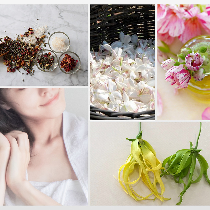 花精油の香りを愉しむ(1)花々で満たすバスタイム