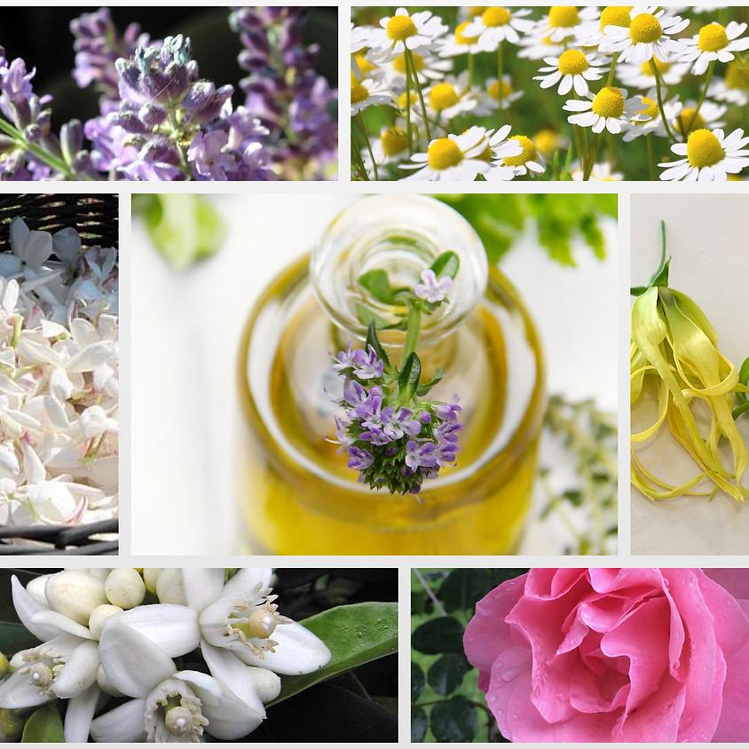 花精油の香りを愉しむ(1)  花の香りで癒しのひととき
