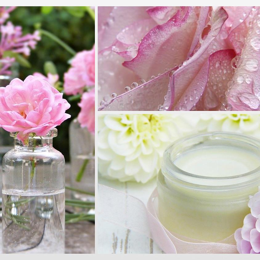 花精油の香りを愉しむ(2) お肌が喜ぶ薔薇のスキンケア